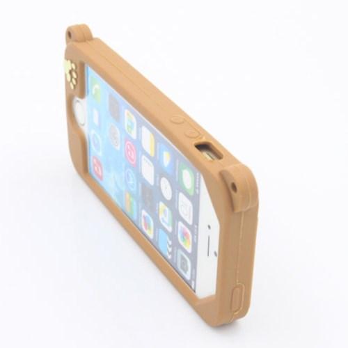 tourist camera iphone case brown 4