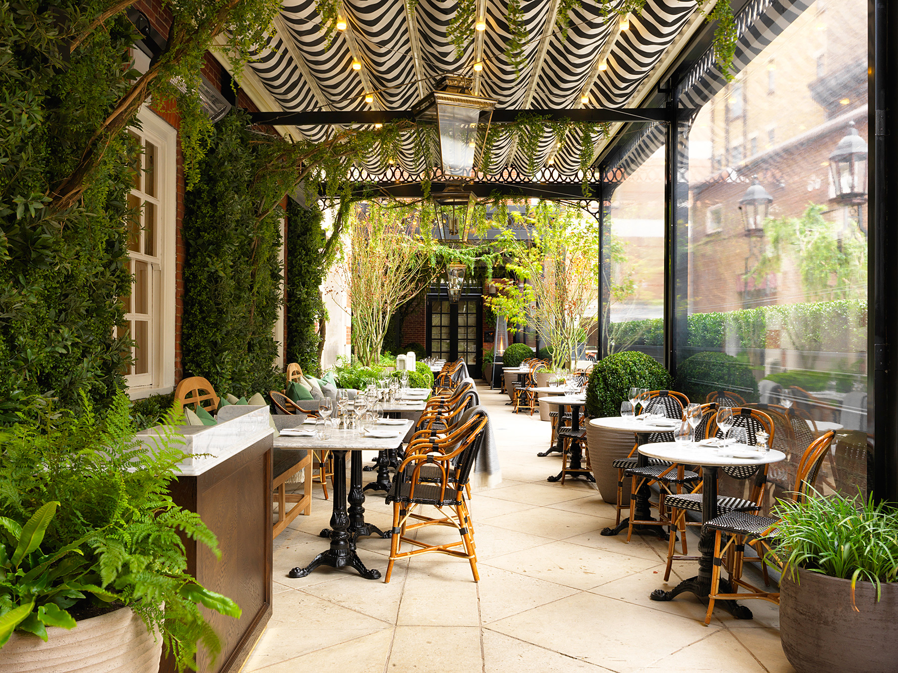 Hotel Terrasse Dalloway Terrace At The Bloomsbury London