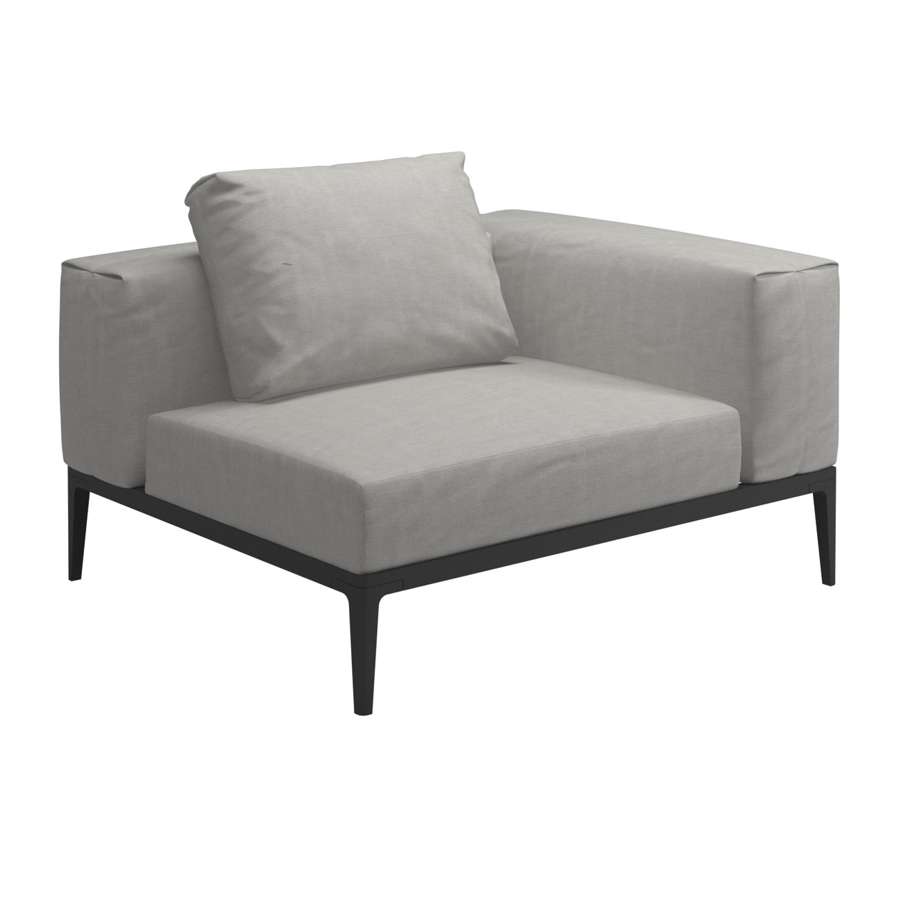 Mobilier Exterieur Gloster Gloster Grid Modular Sofa Corner Unit