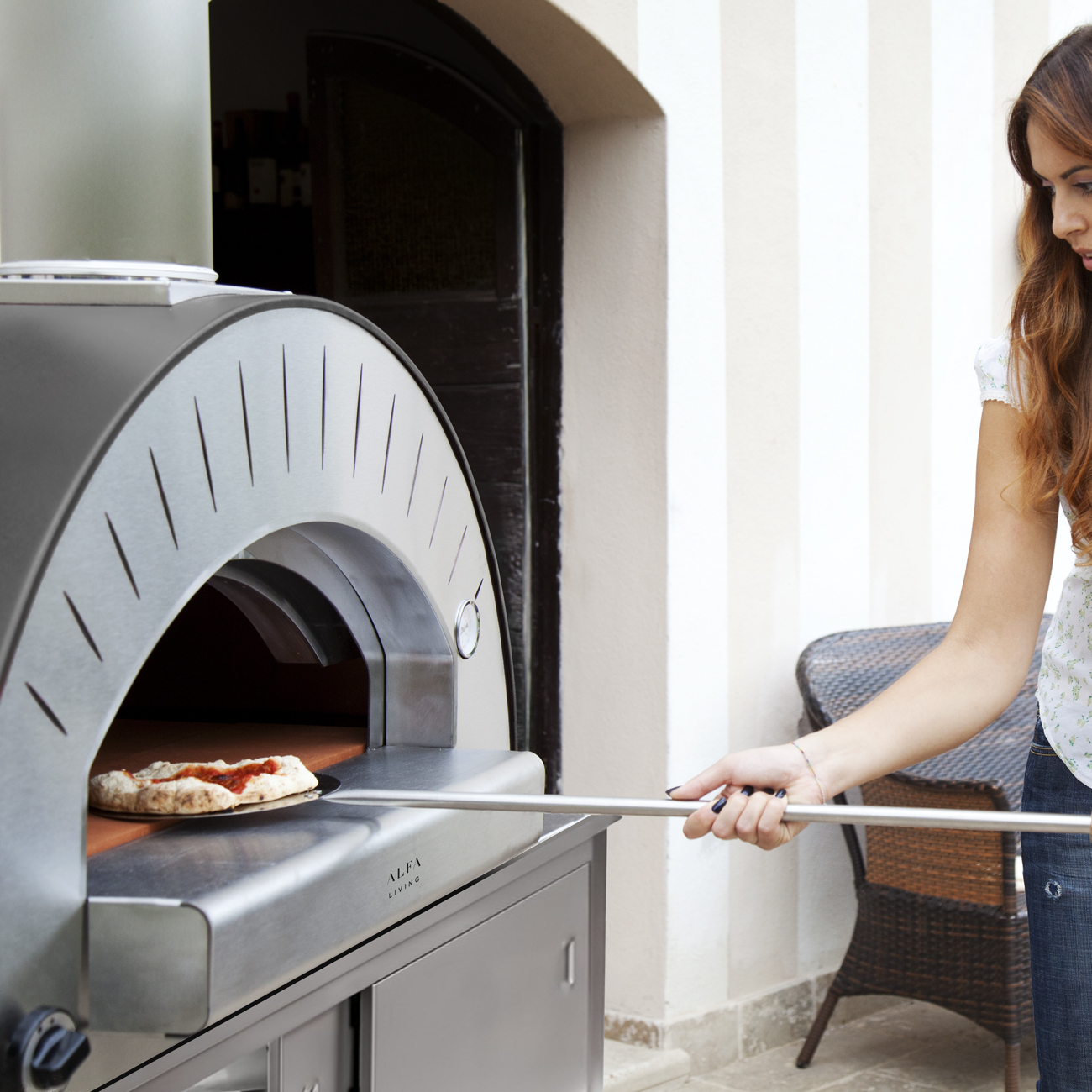 Alfa Living Alfa Living Gas Fired Dolce Vita Pizza Oven Luxury