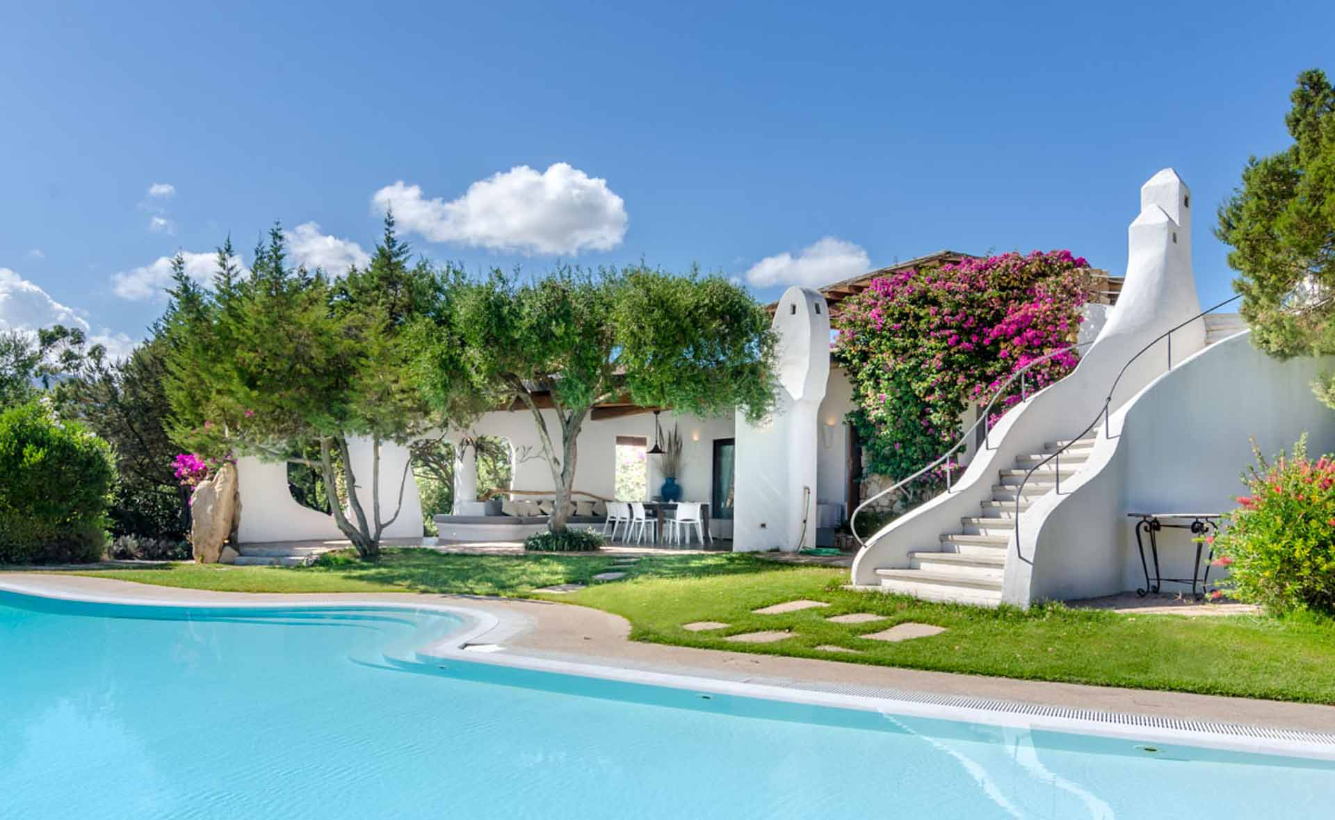 Luxus Outdoor Pool Luxury Sardinia Luxury Villa Lina Porto Rotondo Costa