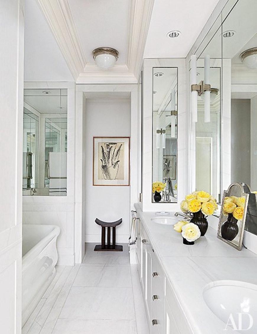 10 Astonishing Ideas To 39 Spa Up 39 Your Luxury White Bathroom