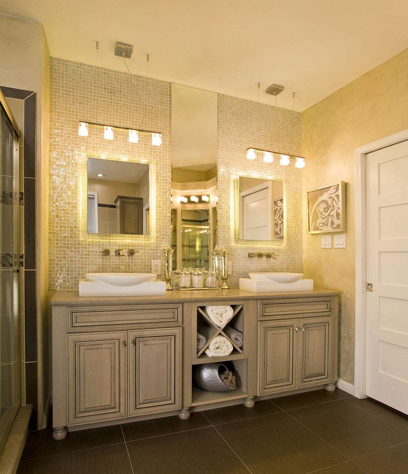 24 Stunning Luxury Bathroom Ideas For His And Hers Bathroom Sinks
