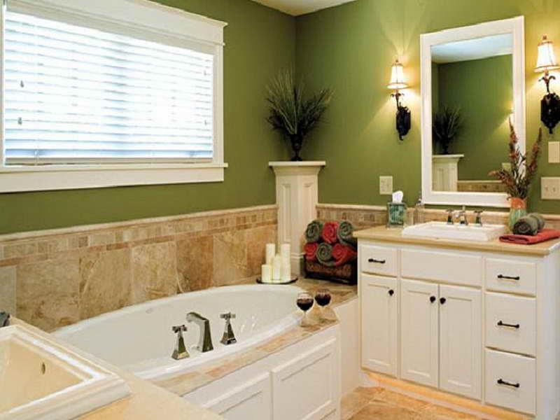 Olive Green Bathroom Decor Ideas For Your Luxury Bathroom