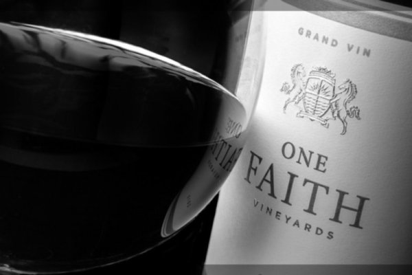 one faith wine most expensive bc