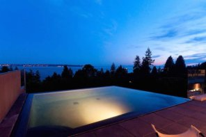 West Vancouver's Coolest Infinity Pools