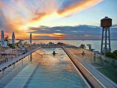 On Top of the World at the JW Marriott Venice Resort & Spa