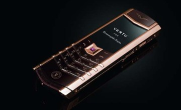 The Signature Vertu for Ermenegildo Zegna China 20th Anniversary Limited Edition