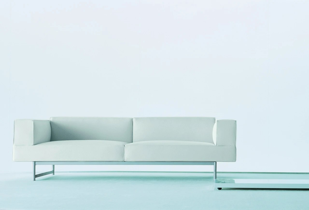 Piero Lissoni Sofa Price The 260 Reef Double Sofa On A Metal Frame, Cassina