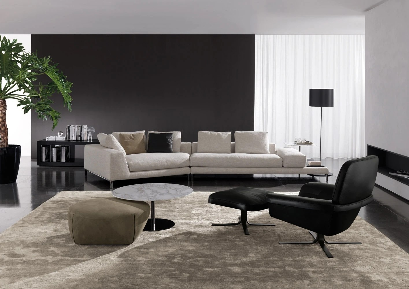 Divano Hamilton Island Minotti Modular Sofa To Relax On Hamilton Islands Minotti