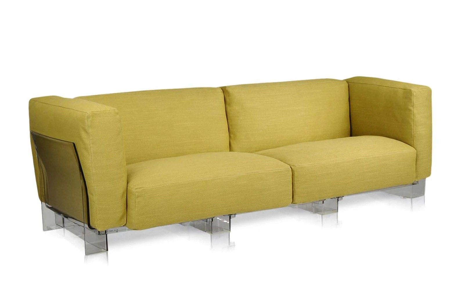 Sofa Pop Two Seater Sofa In Fabric Pop Duo By Kartell Luxury
