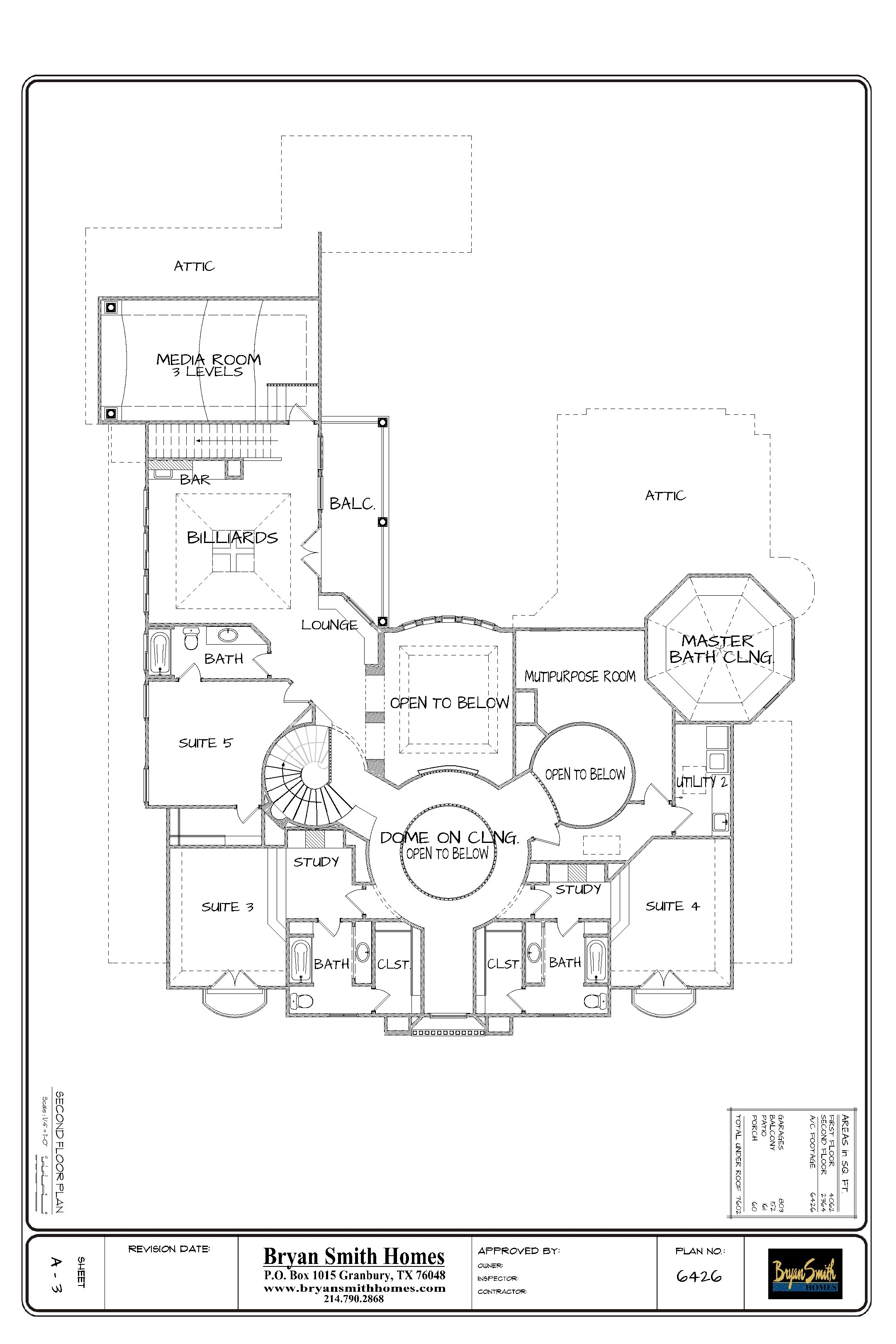 Home Builders In Fort Worth French Renaissance | Plan 6426