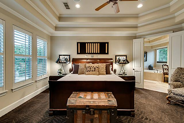 Home Builders In Fort Worth Luxury Bedrooms | Bryan Smith Homes
