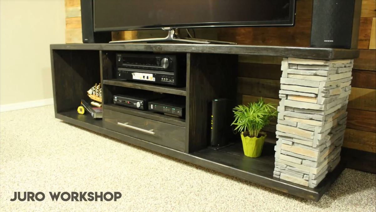 35 Awesome Diy Tv Stand Plans Woodworking Projects For Your Precious Weekend