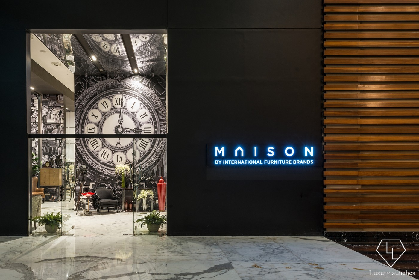 Luxury Furniture Stores Luxury Furniture Store Maison Debuts In India With A