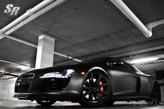 Audi Car Wallpaper Black Sr Auto Group Revamps The Audi R8 To Give You 2010 Project