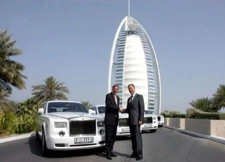 Bakery Wallpaper Hd Burj Al Arab Welcomes Four New Rolls Royce Phantoms Into