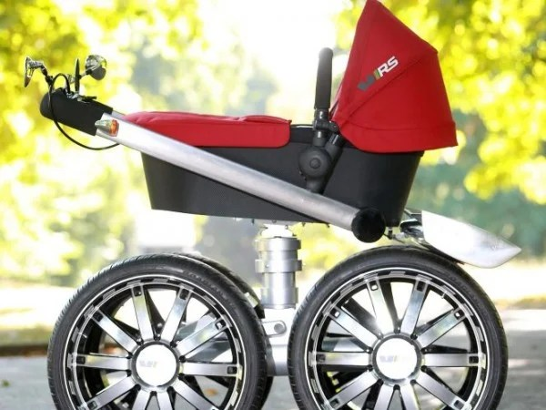 Buggy Style Stroller Skoda Creates The Coolest Pram In The World