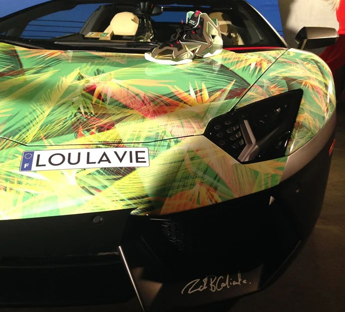 How Long Is Paint Good For Lebron James's Lamborghini Aventador Is Customized To
