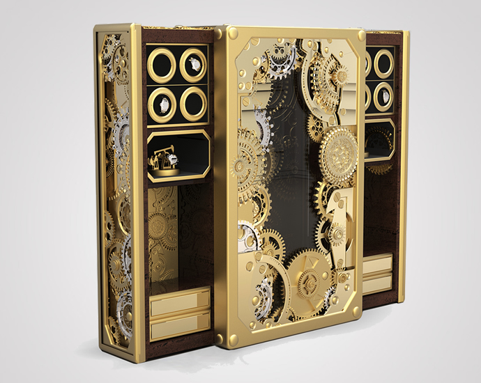 This 80k Steampunk Inspired Baron Safe Box By Boca Do