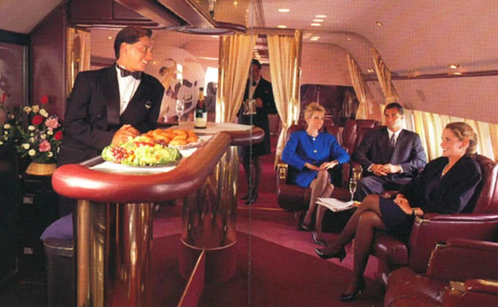 Air Travel Assist A Look Inside Travelling First Class In 1989