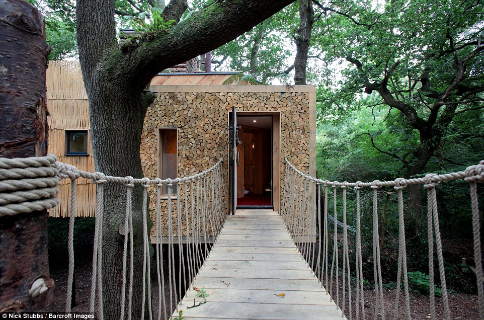 Designer Sauna Is This The Worlds Most Luxurious Tree House?