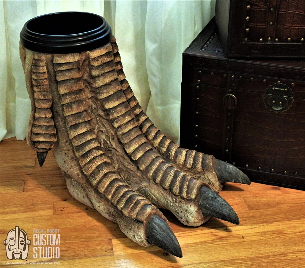 Cool Wastebaskets Turn Your Room Into Jurassic Park With This Waste Bin