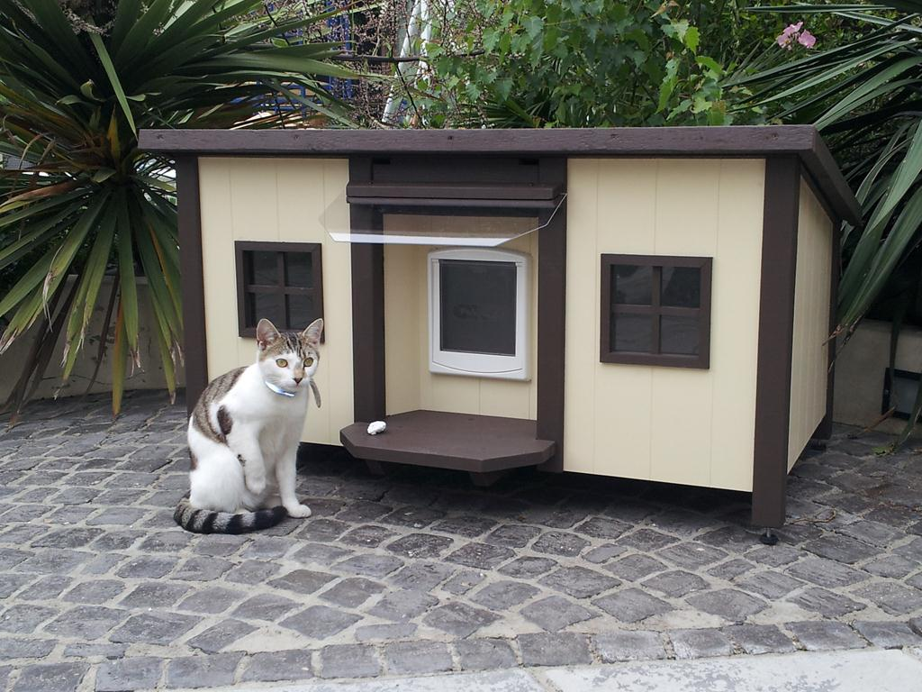 Cat House Plans Custom Handmade Cathouses And Catshelters Luxury Pet Homes