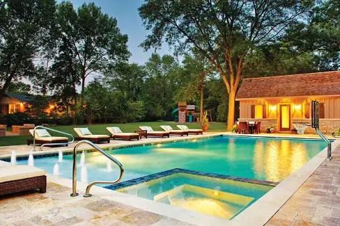 6 Pool Deck Patio Design Ideas Luxury Pools Outdoor