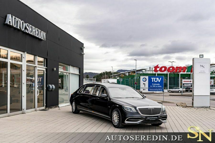 Auto Sitzheizung Real Mercedes Maybach S 650 Pullman Auto Seredin Germany