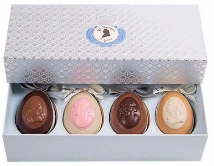Delicious Chocolate Easter Eggs By Les Marquis De Laduree