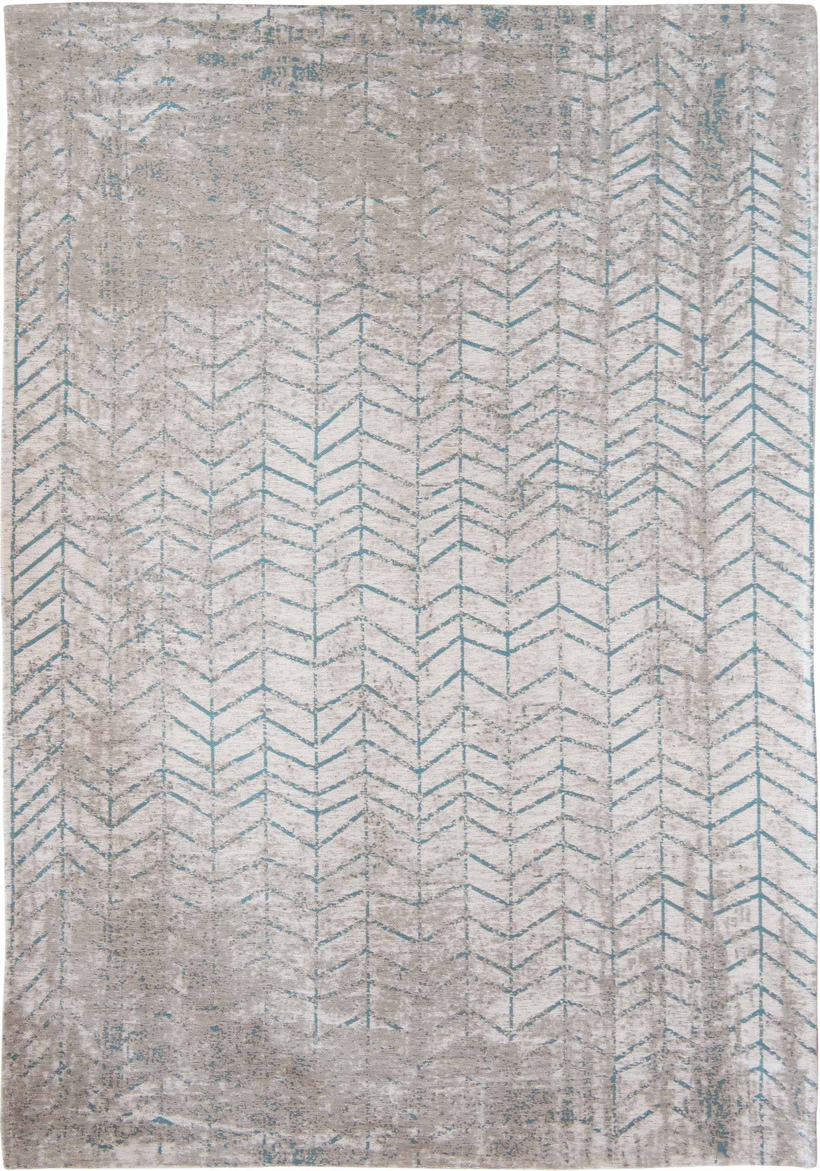 Louis De Porterre Teppiche Louis De Poortere Rug Mad Men Tribeca Blue 8927 Jacobs Ladder Design