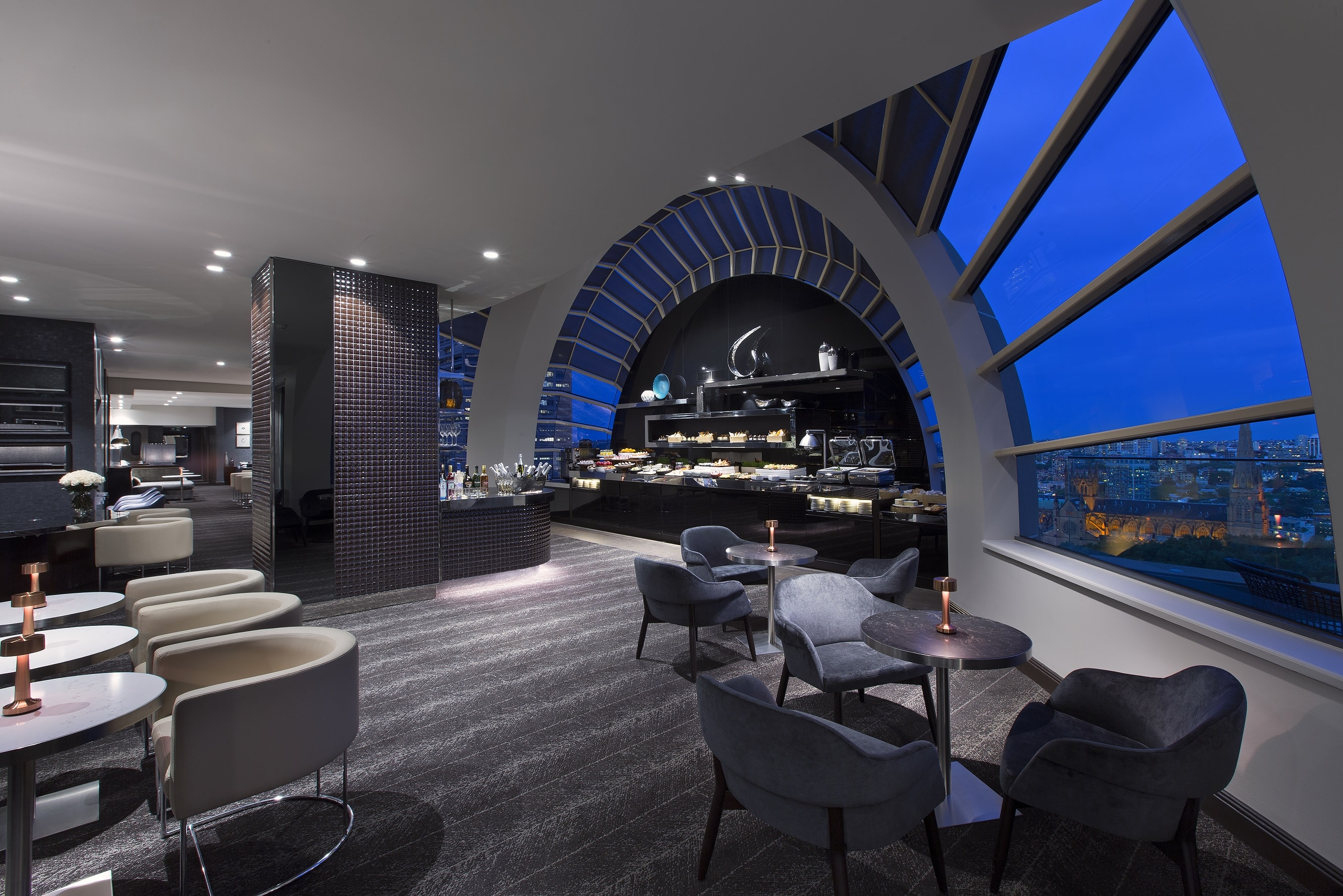 Lounge Sydney Sheraton On The Park Unveils Renovated Rooms And Executive Lounge