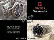 Comparative Review of the Omega Seamaster Professional Model2254.50.00  VS. The Rolex Submariner 16610
