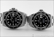 COMPARATIVE REVIEW:  The Rolex Submariner 16610 vs. the Rolex Submariner 116610