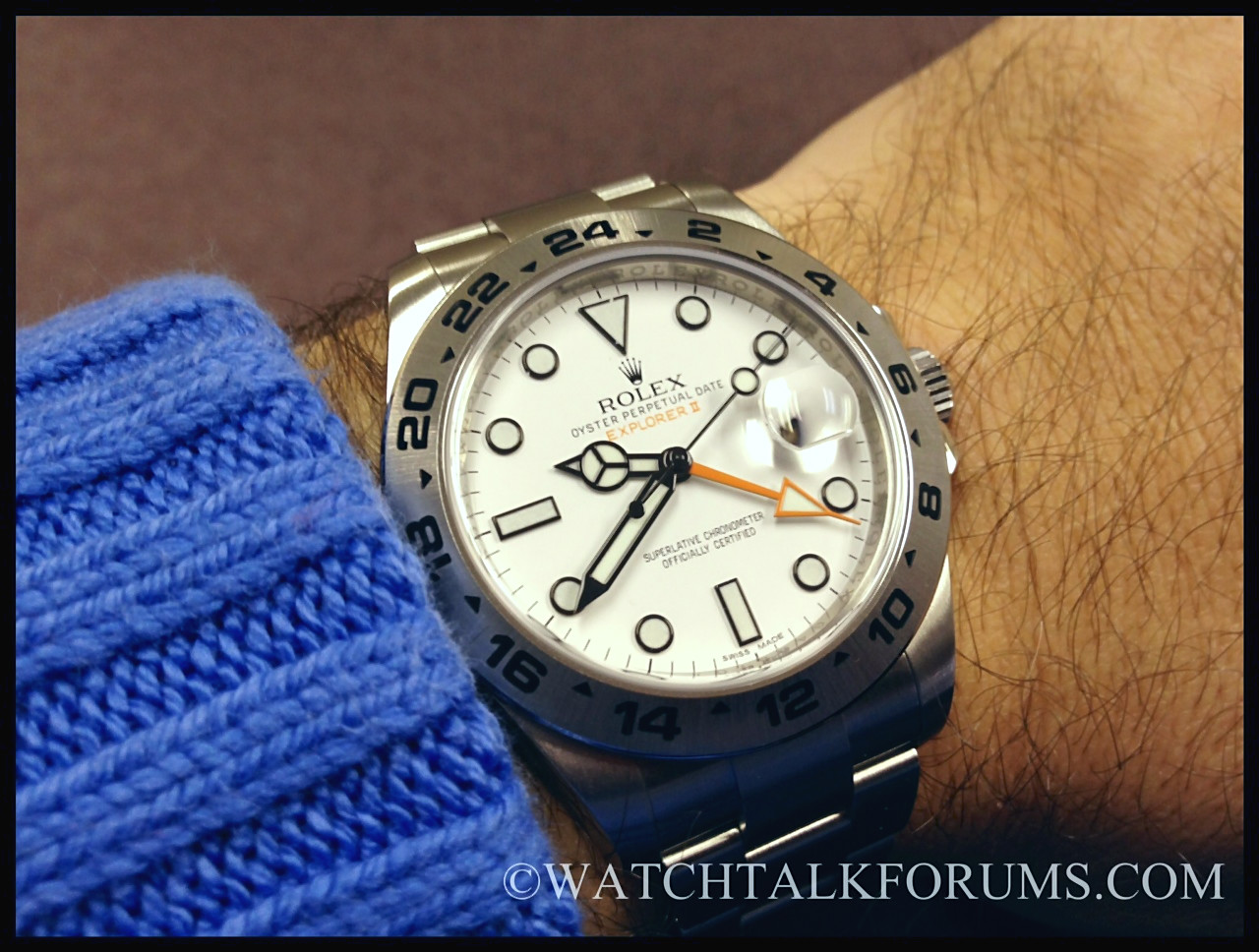 review of the rolex explorer ii 216570 luxury tyme the