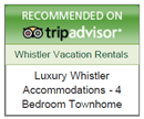TripAdvisor Recommends Luxury Whistler Accommodations