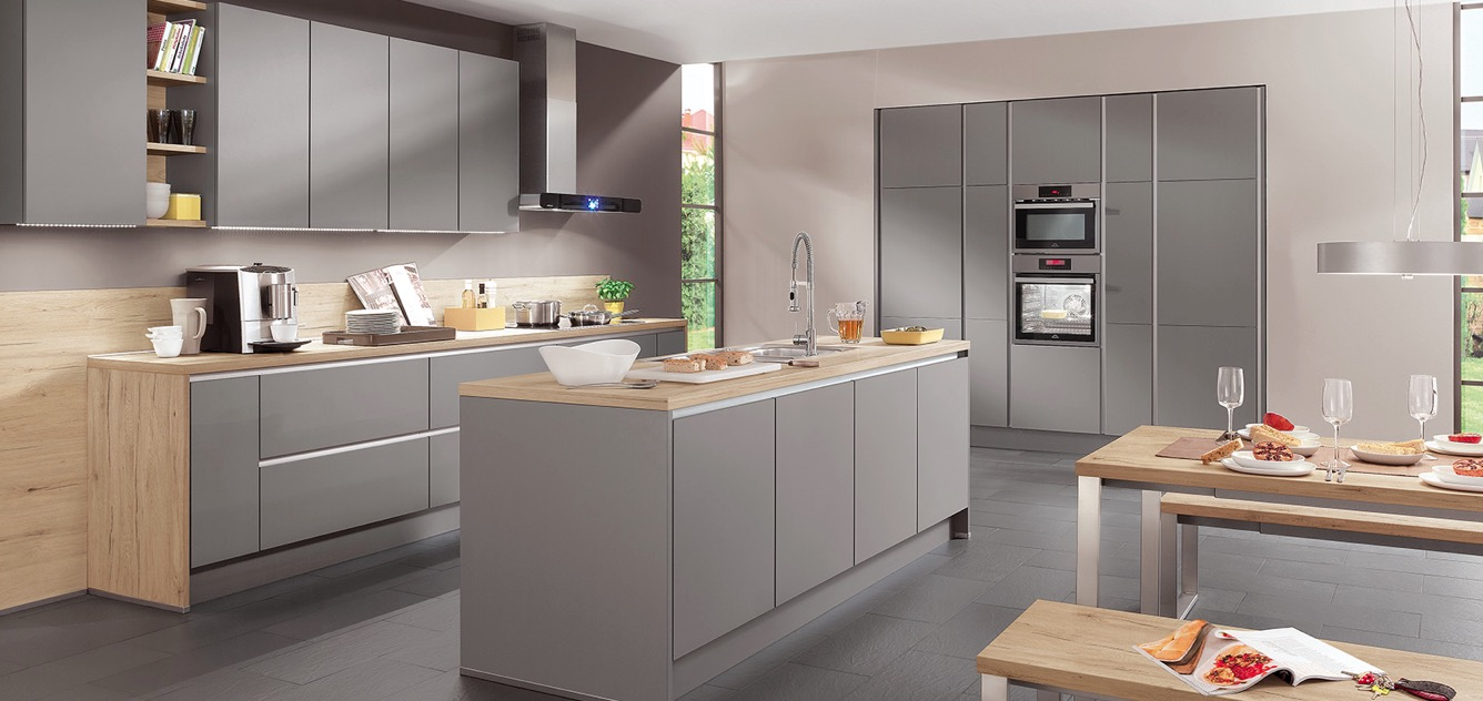 Nobilia Riva Nobilia Handleless German Kitchens In Lancashire Luxus Design