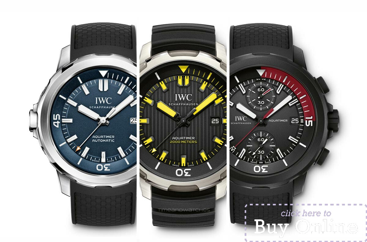 Iwc Replica Swiss Cheap Luxury Iwc Aquatimer Replica Watches