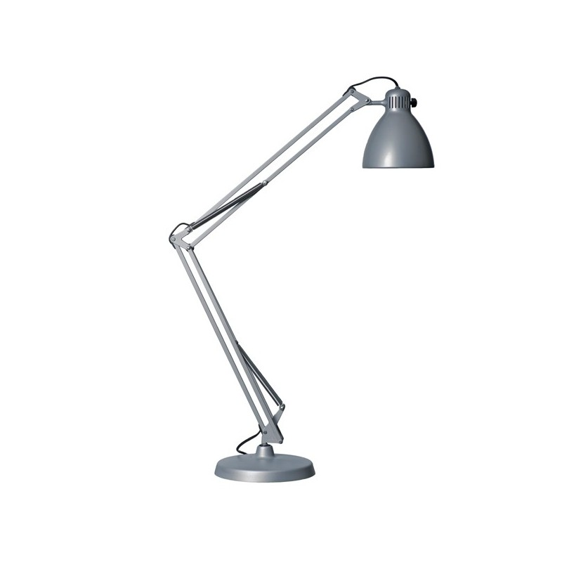 Lampara Led Para Ebook Luxo L1 - Color Gris - Lámpara De Escritorio - Luz De Lectura