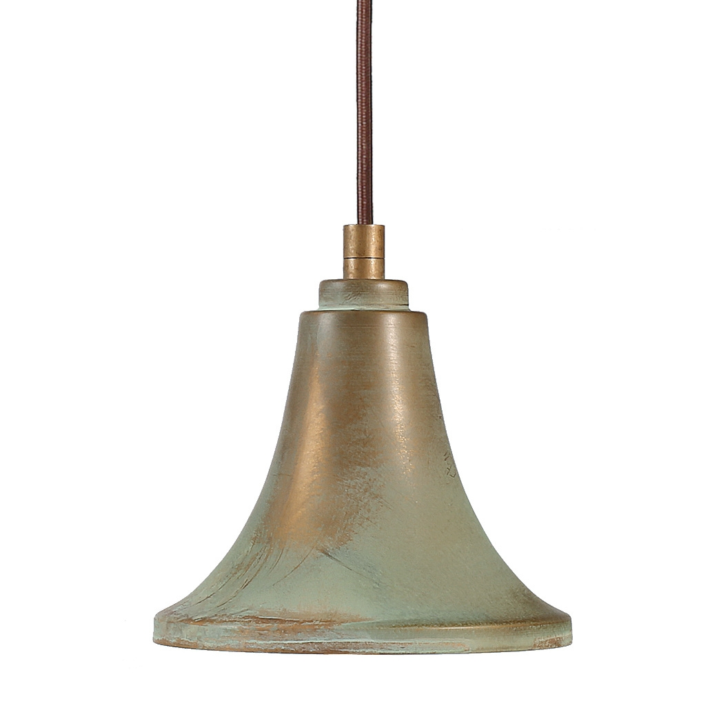 Moderne Messinglampe