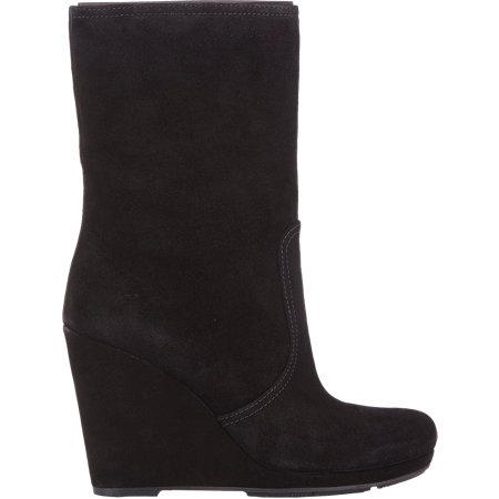 PRADA LINEA ROSSA Wedge-Heel Boot $750 now $299