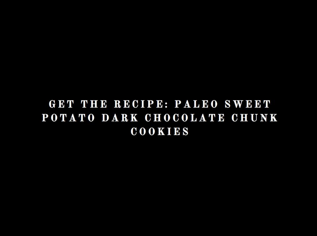 Paleo Sweet Potato Dark Chocolate Chunk Cookies, LVBX Magazine