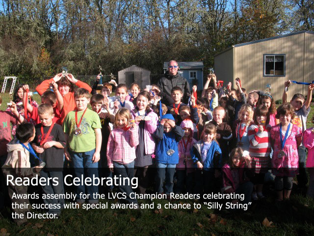 Readers Celebrating