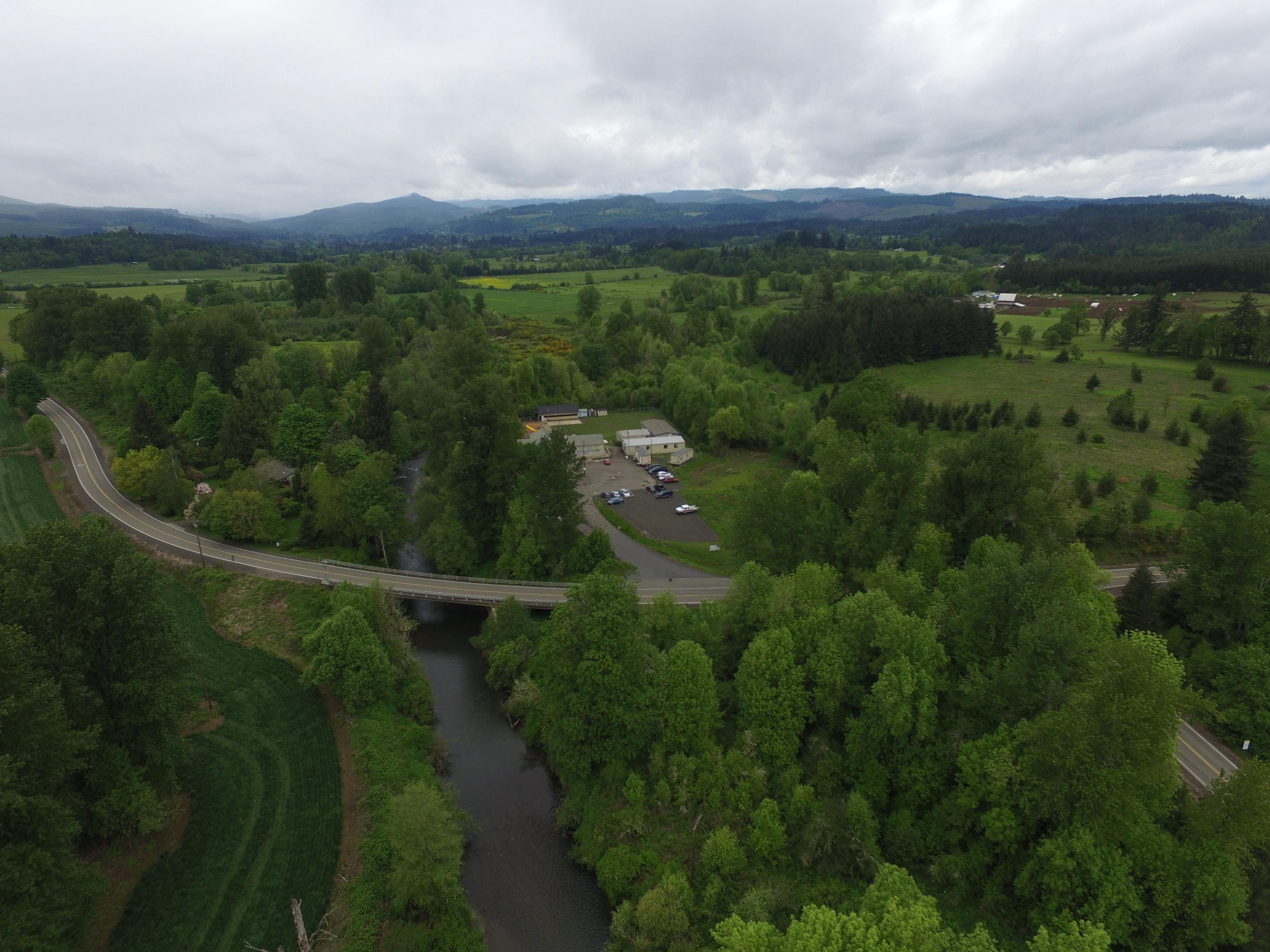 Aerial View of Bridgeport