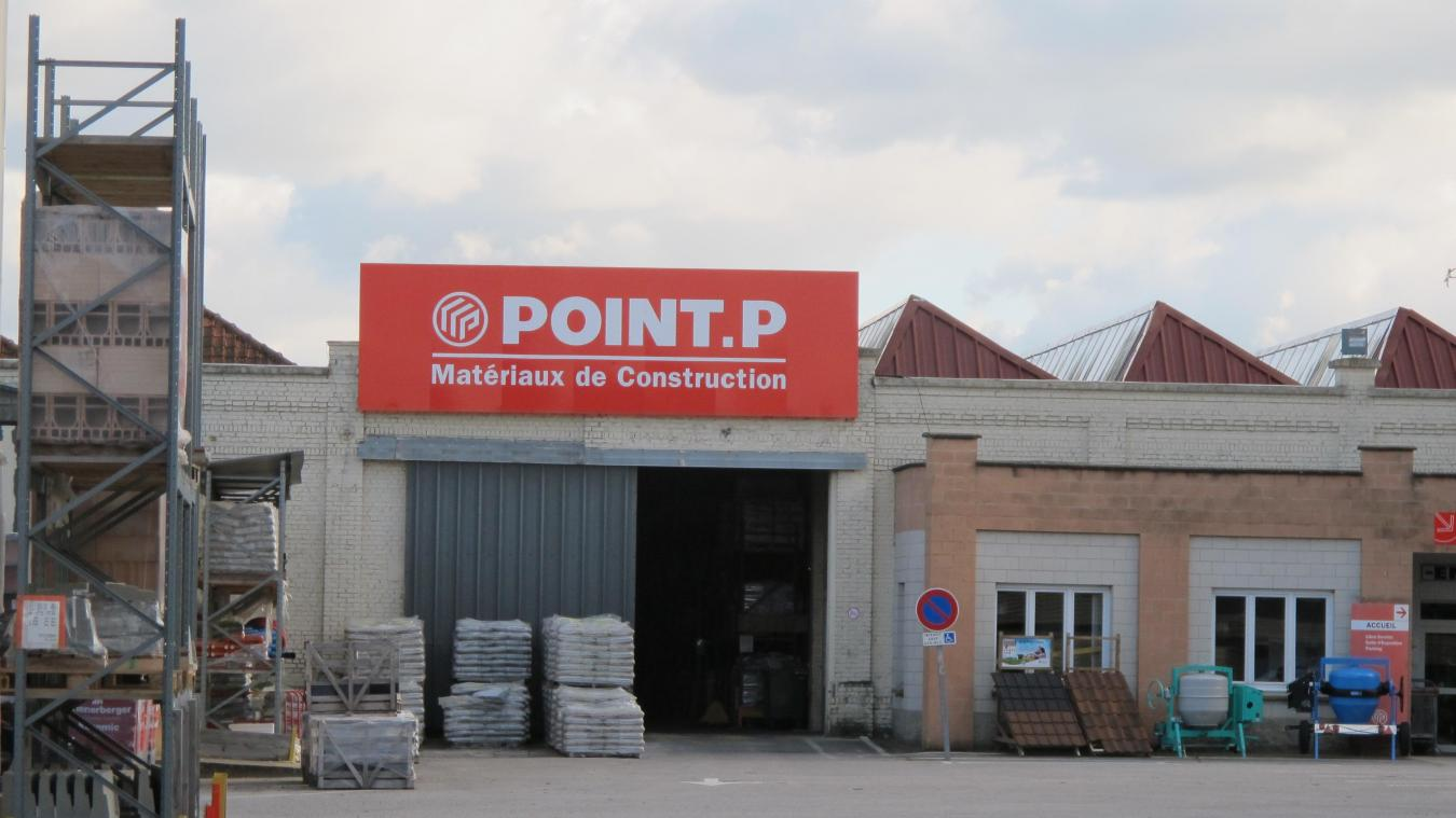 Point P Roubaix Économie Point P Reste à Saint Omer Pour L Instant