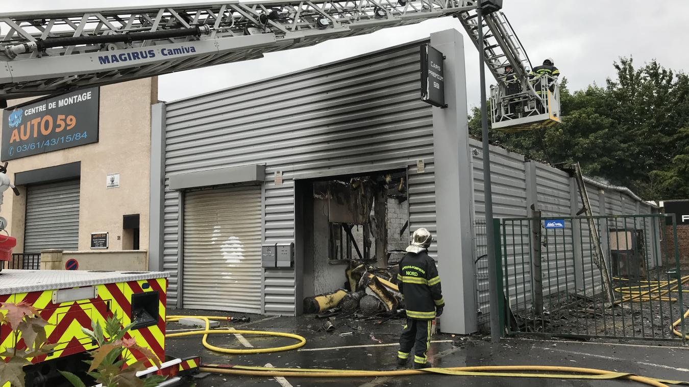 Garage Auto Paris Auby Un Garage Automobile Détruit Par Les Flammes
