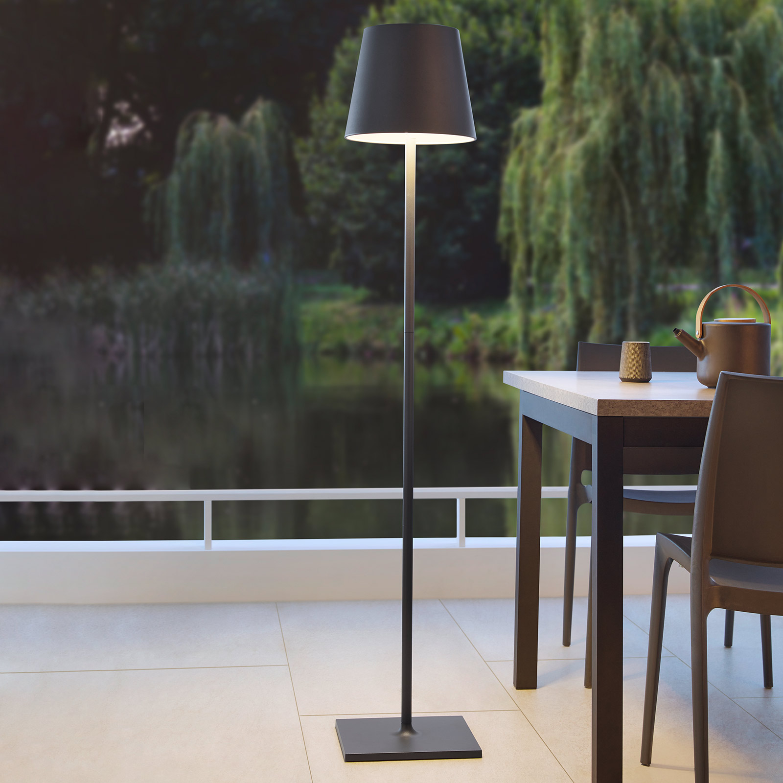 Led Stehleuchte Quint Outdoor Kabellos Lampenwelt At