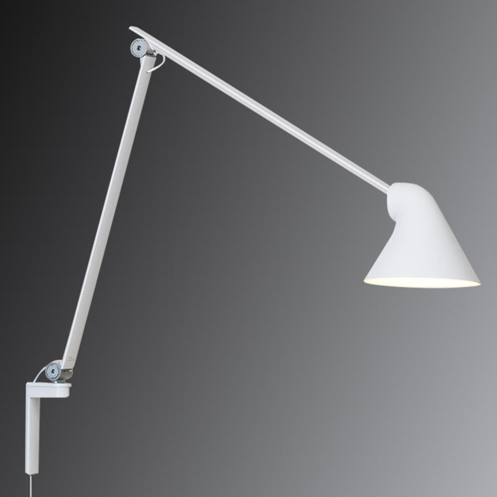 Louis Poulsen Njp Led Floor Lamp In White Lights Ie
