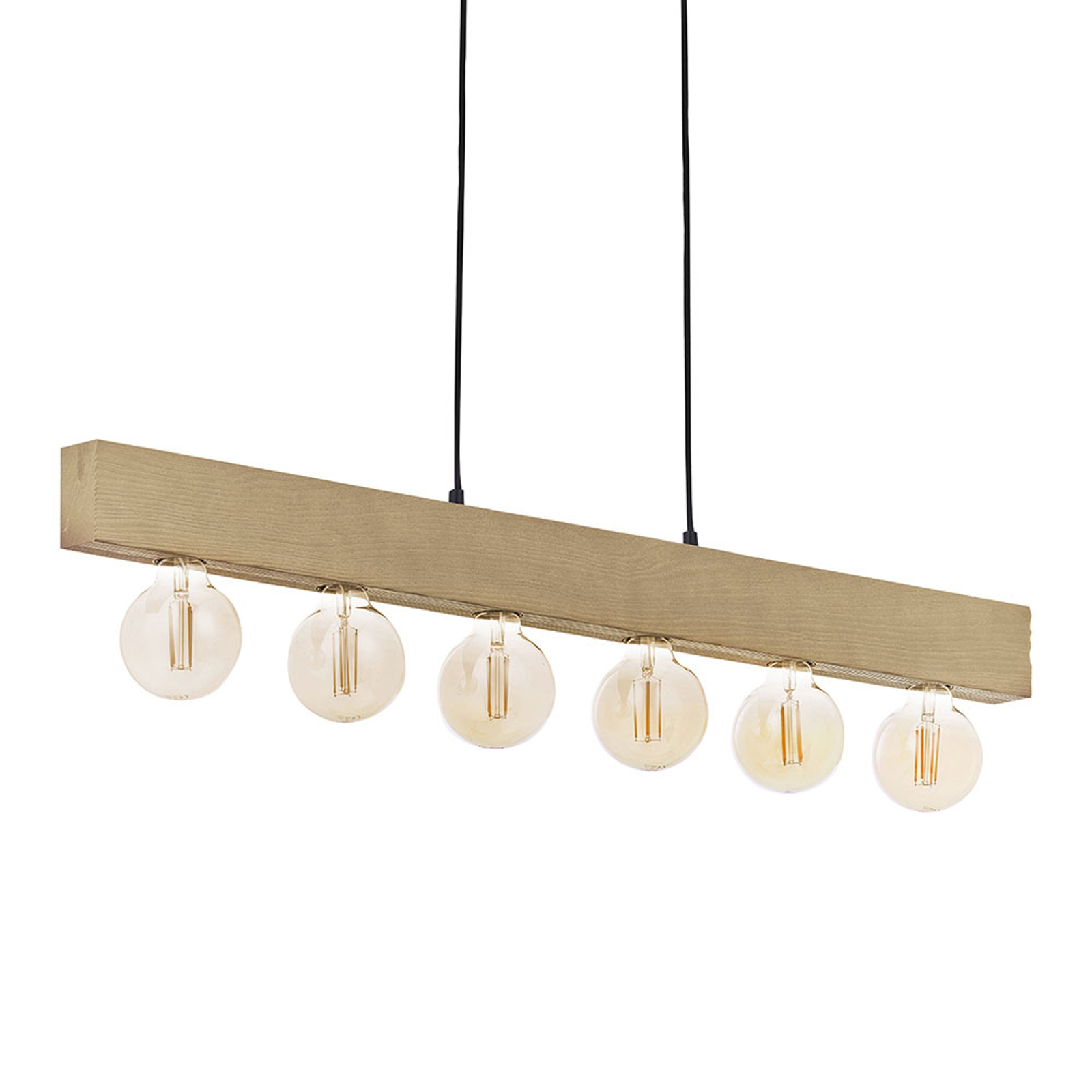 Holz Pendelleuchte Artwood New Sechsflammig By Lampenwelt Ch